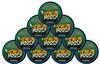 Hooch Snuff Pouch Packs 10 Cans Wintergreen