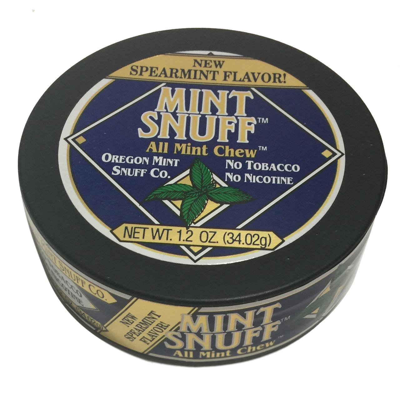Oregon Mint Snuff Spearmint 1 Can