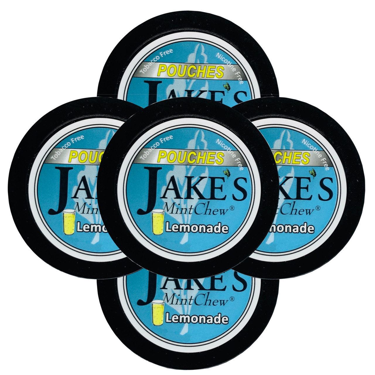 Jake's Mint Chew Pouches Lemonade 5 Cans