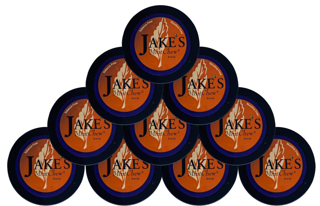 Jake's Mint Chew Brandy 10 Cans