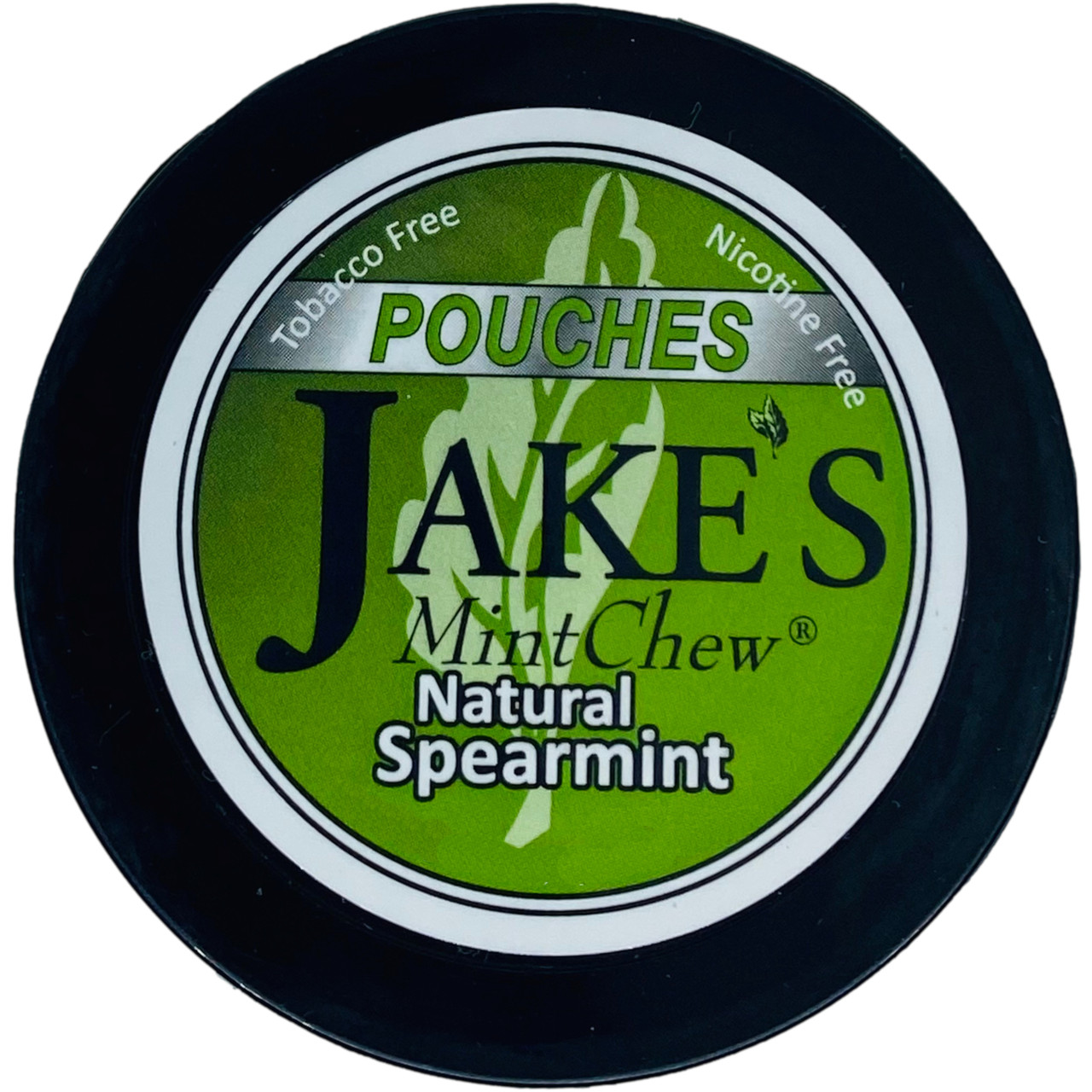 Jake's Mint Chew Pouches Spearmint 1 Can