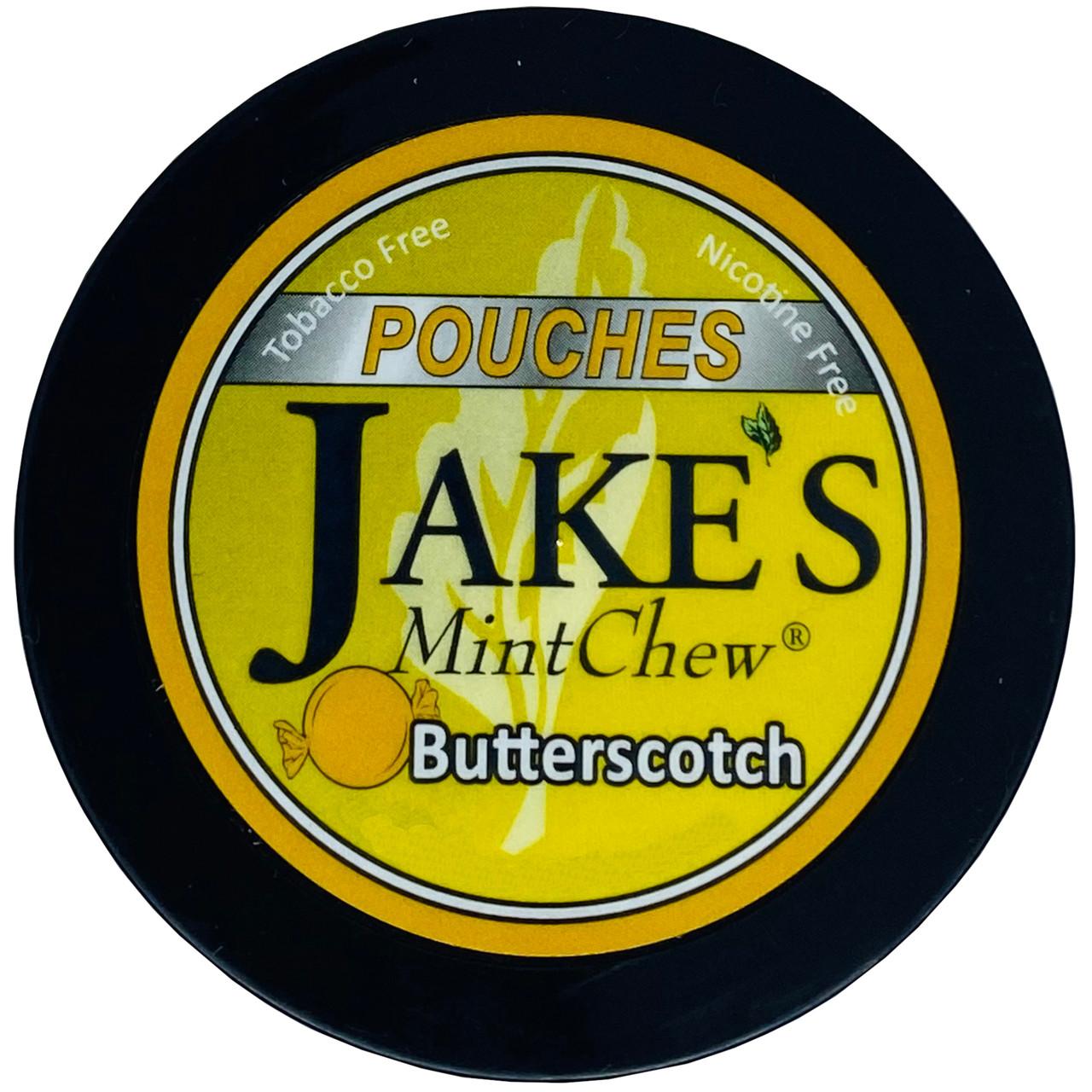 Jake's Mint Chew Pouches Butterscotch 1 Can