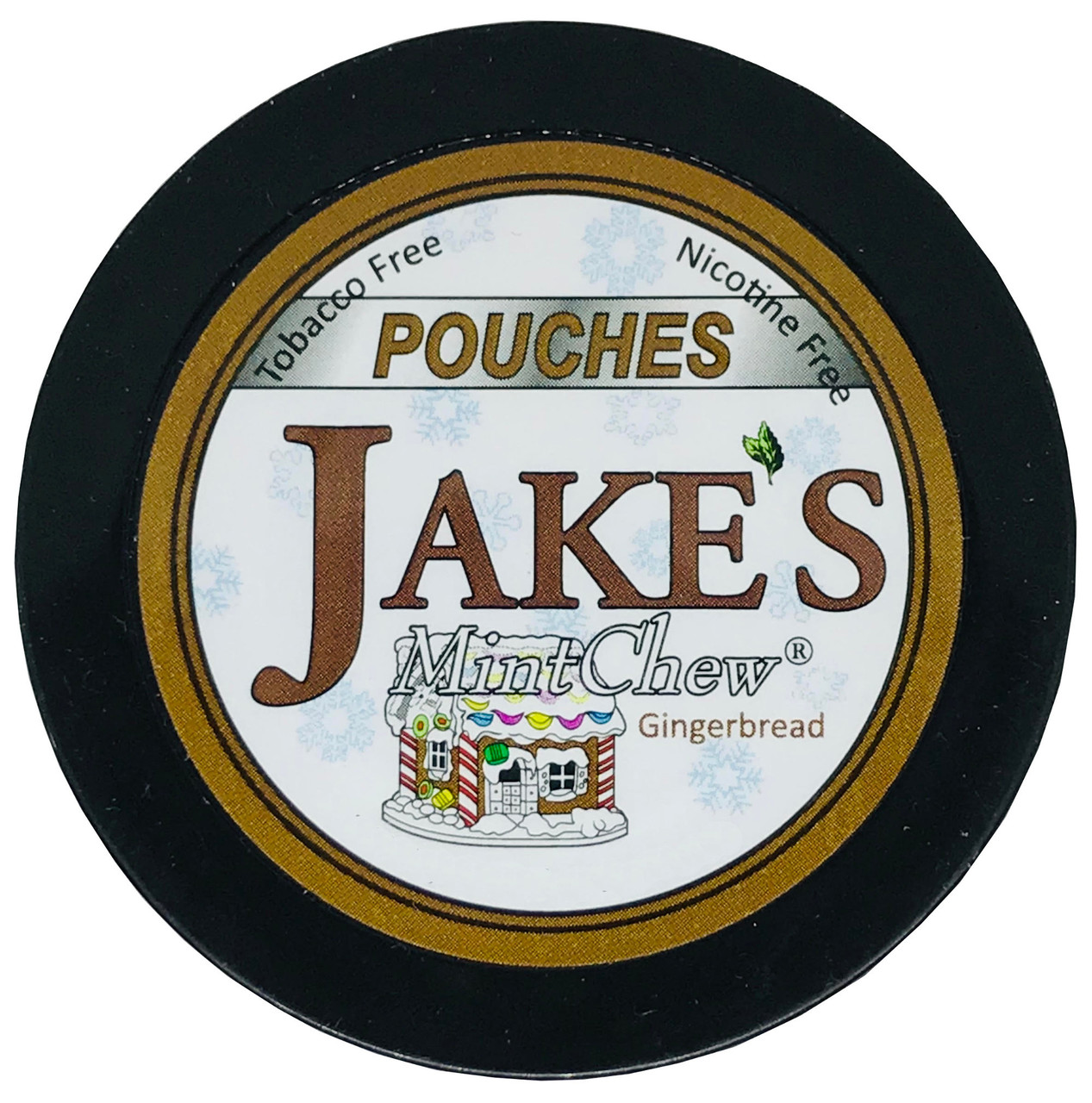 Jake's Mint Chew Pouches Gingerbread 1 Can