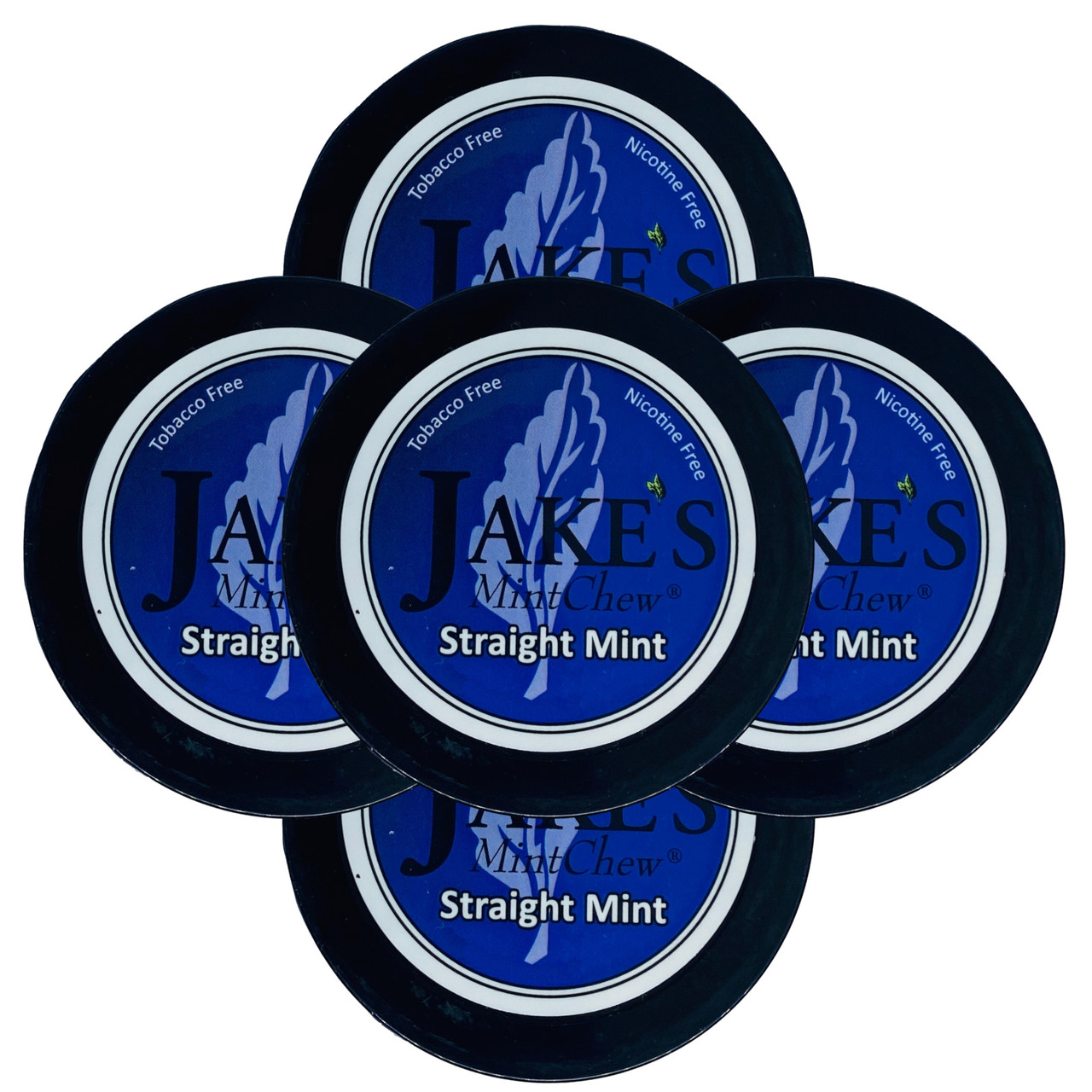 Jake's Mint Chew Straight Mint 5 Cans
