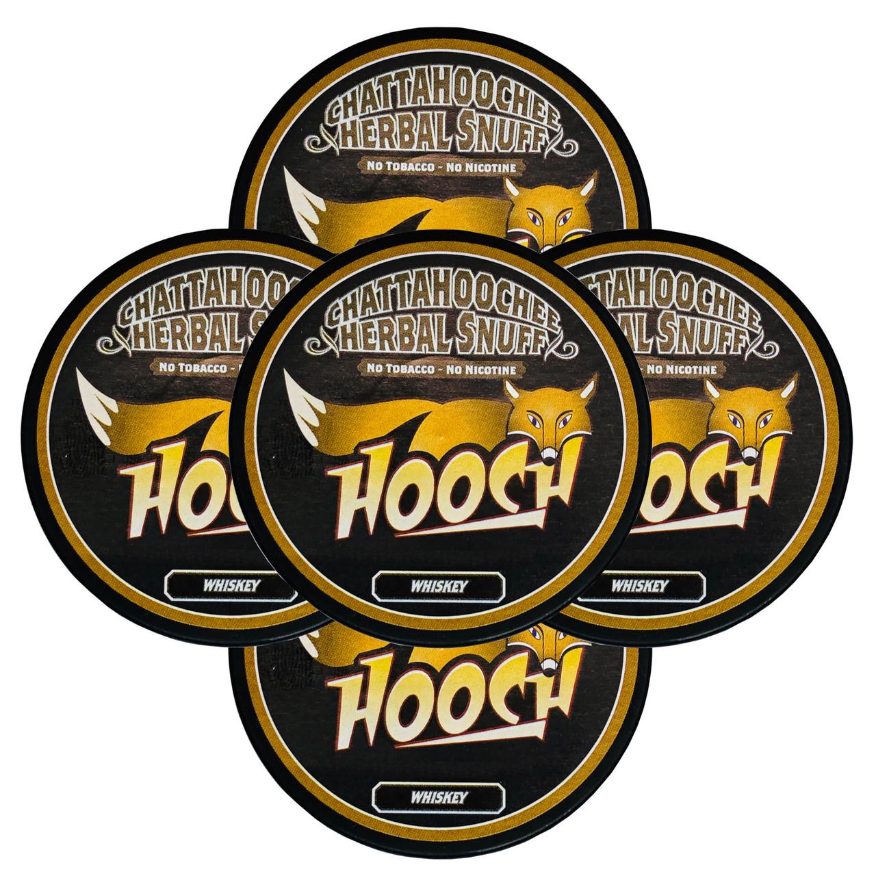 Hooch Snuff 5 Cans Whiskey