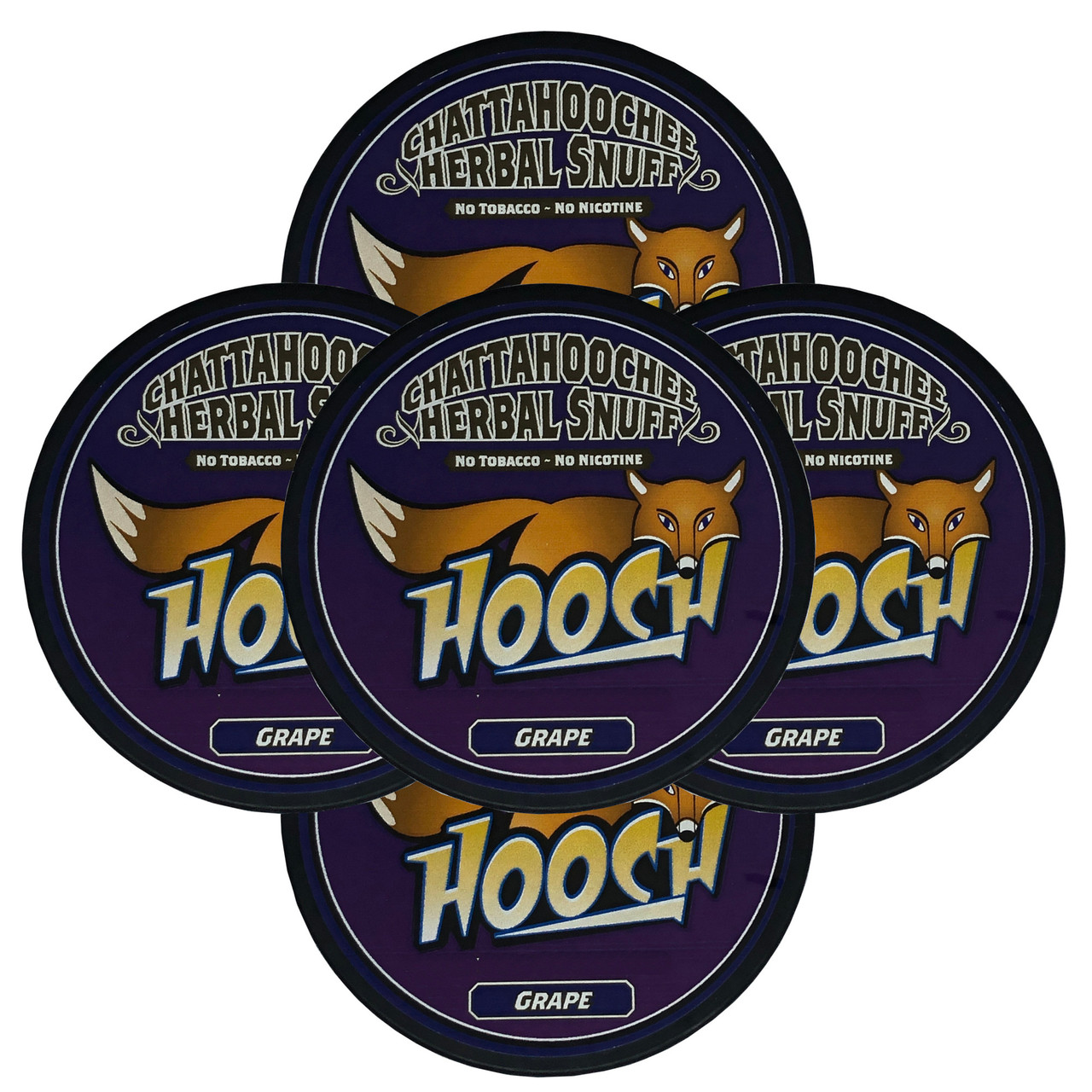 Hooch Snuff 5 Cans Grape