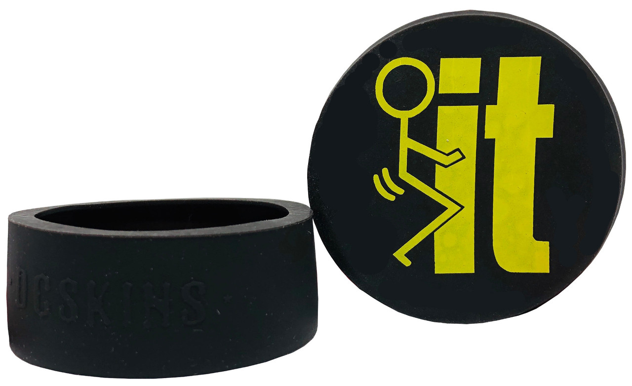 DC Skins Snuff Covers - FIT Black