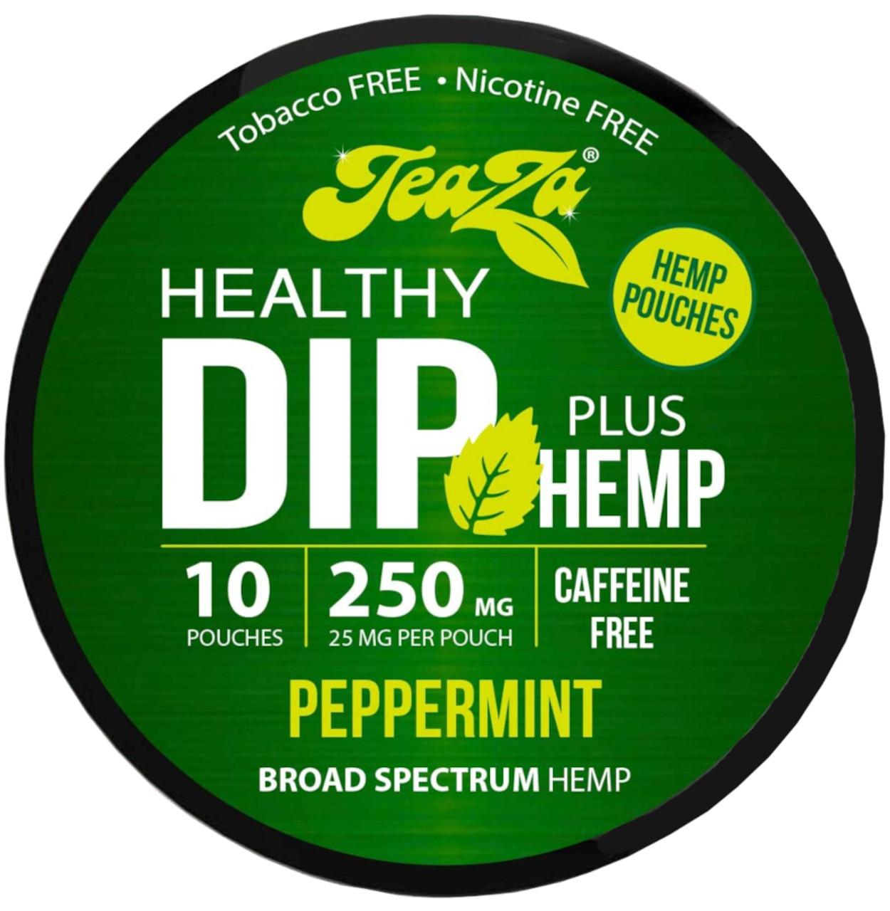 Teaza Herbal CBD Hemp Peppermint Pouches Single
