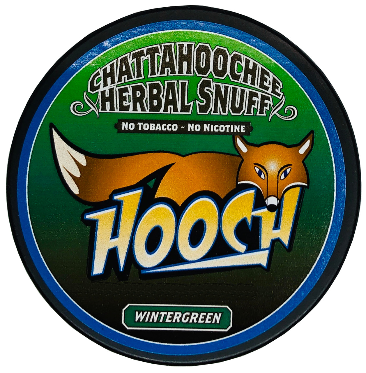 Hooch Snuff 1 Can Wintergreen