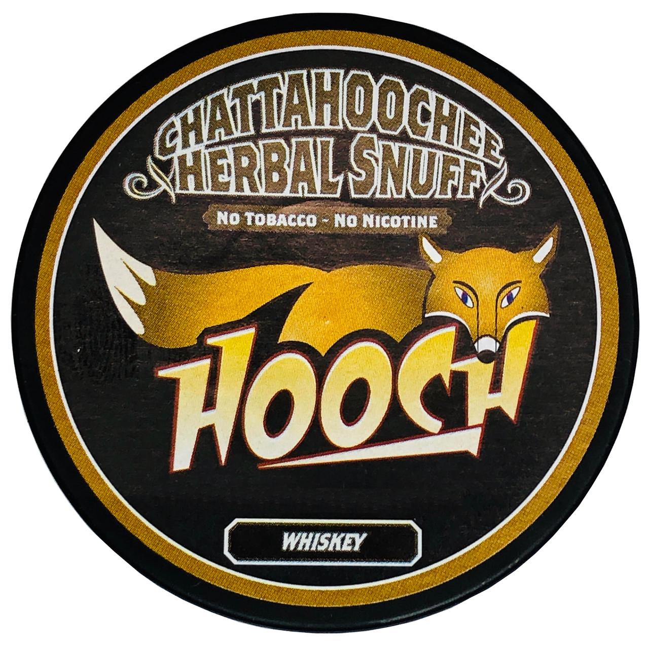 Hooch Snuff 1 Can Whiskey
