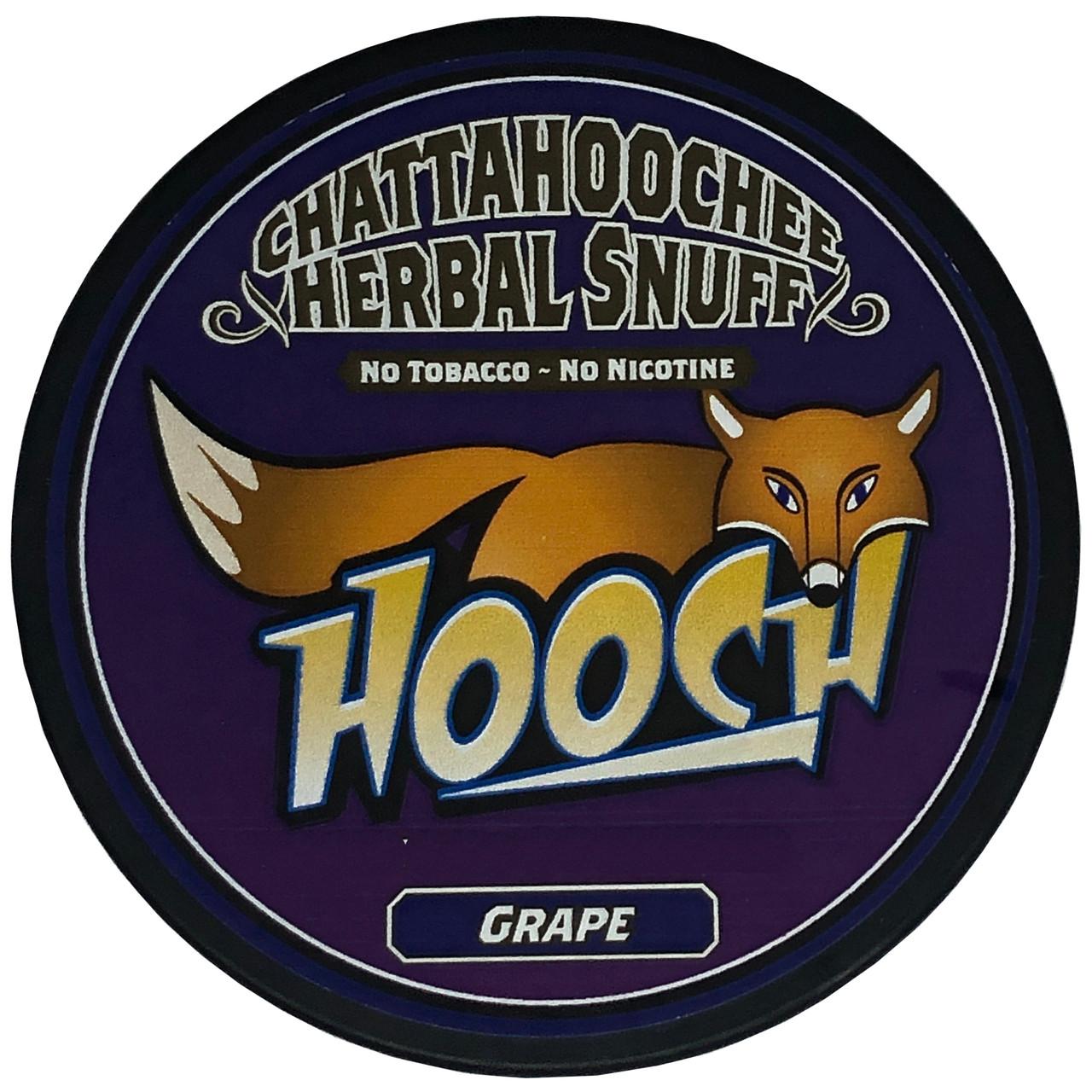 Hooch Snuff Pouch Packs 1 Can Grape