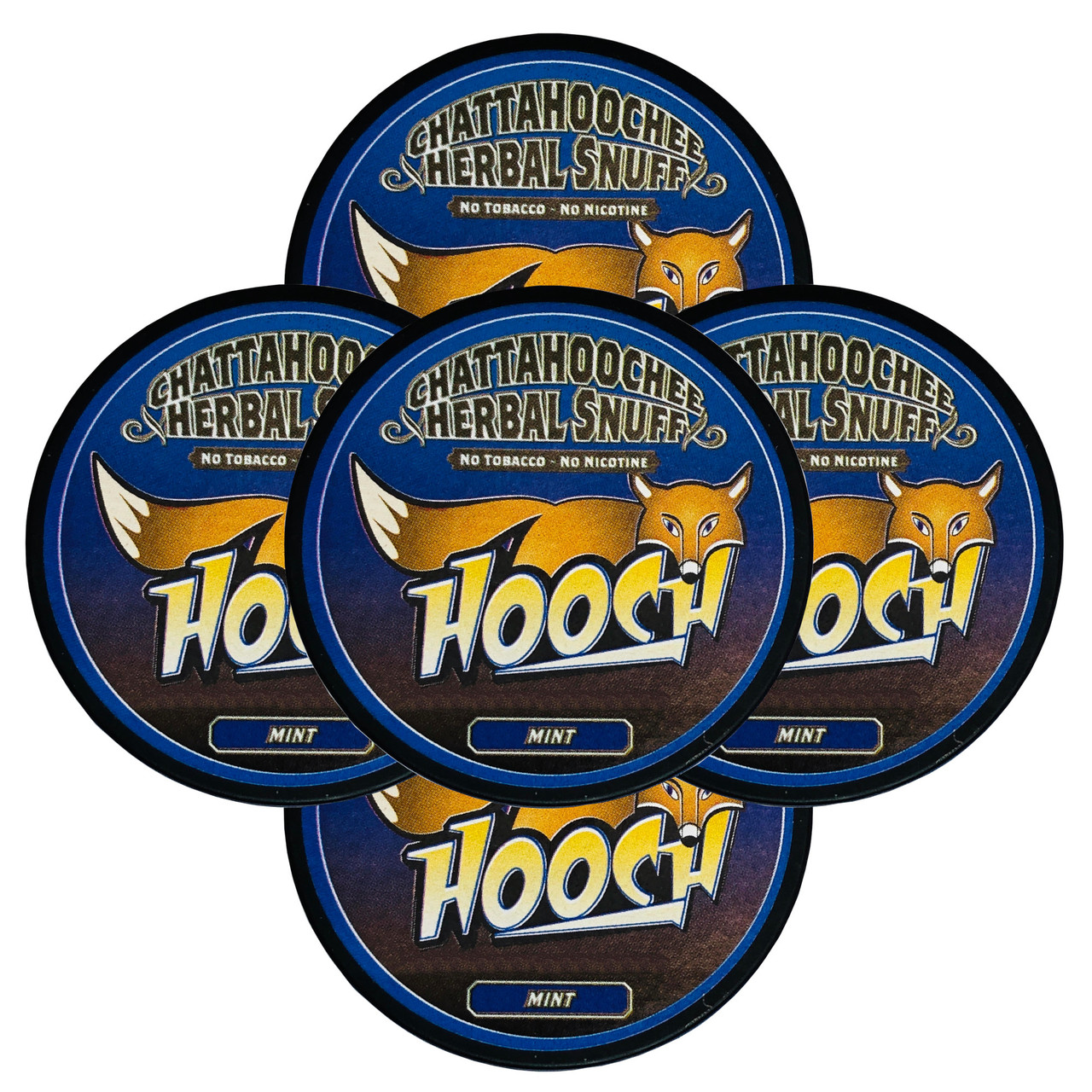 Hooch Snuff Pouch Packs 5 Cans Mint