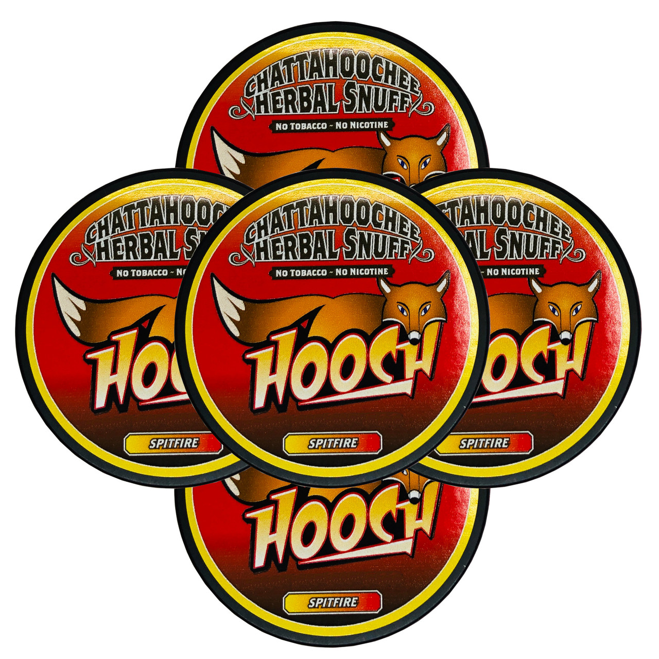 Hooch Snuff Pouch Packs 5 Cans Spitfire