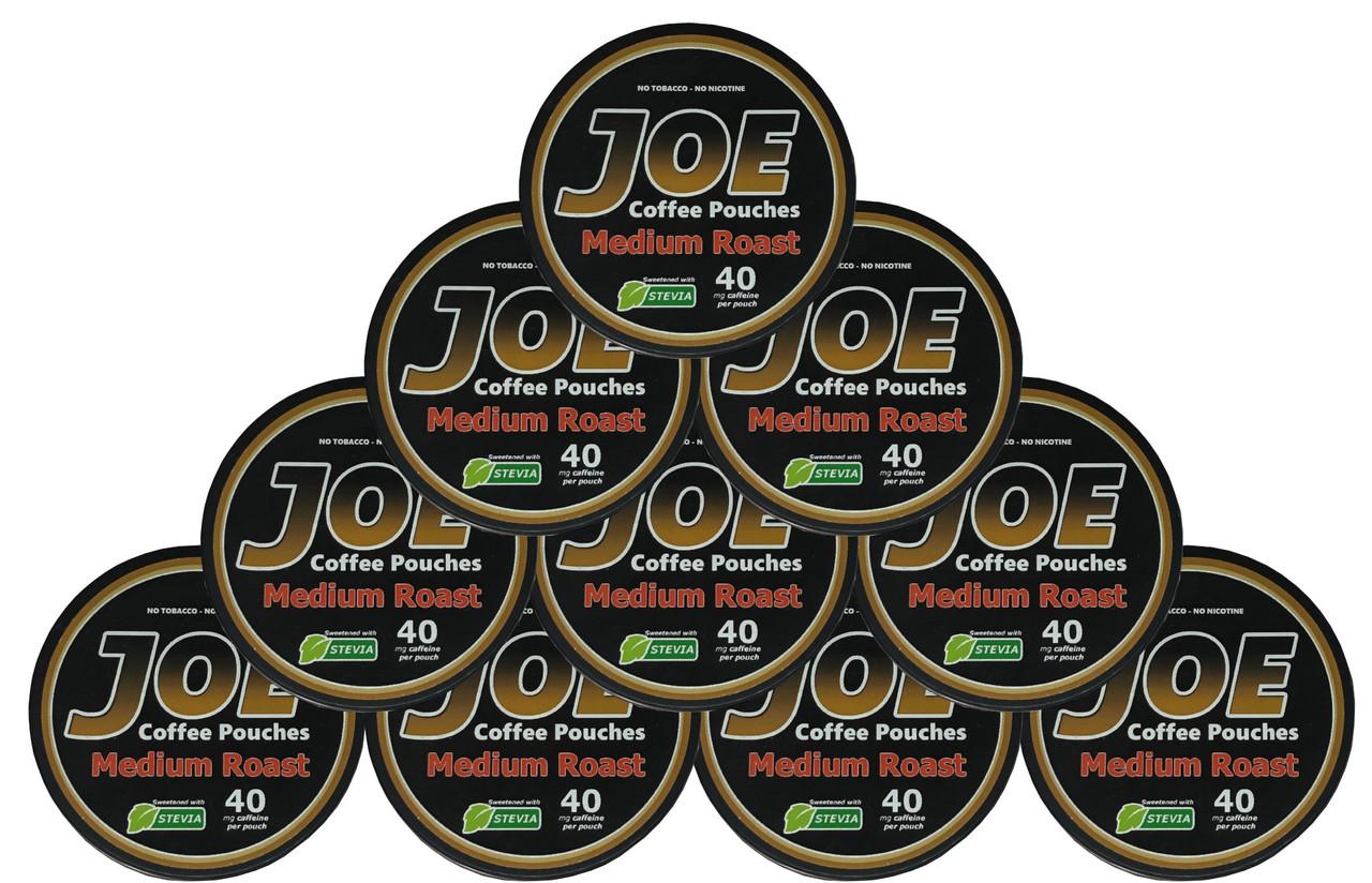 Joe  Coffee Pouches Medium Roast 10 Cans