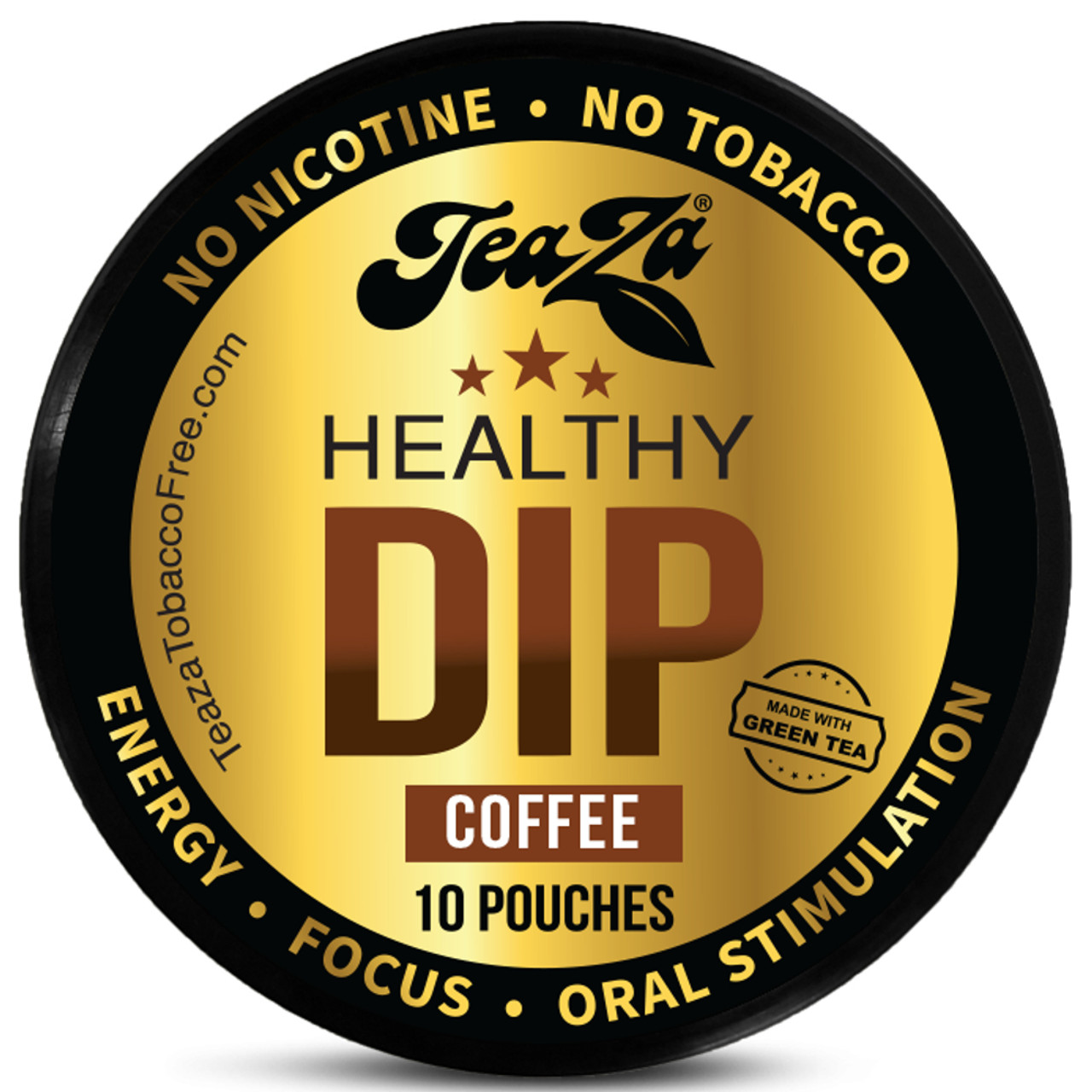 TeaZa Energy Pouches Coffee 1 Can