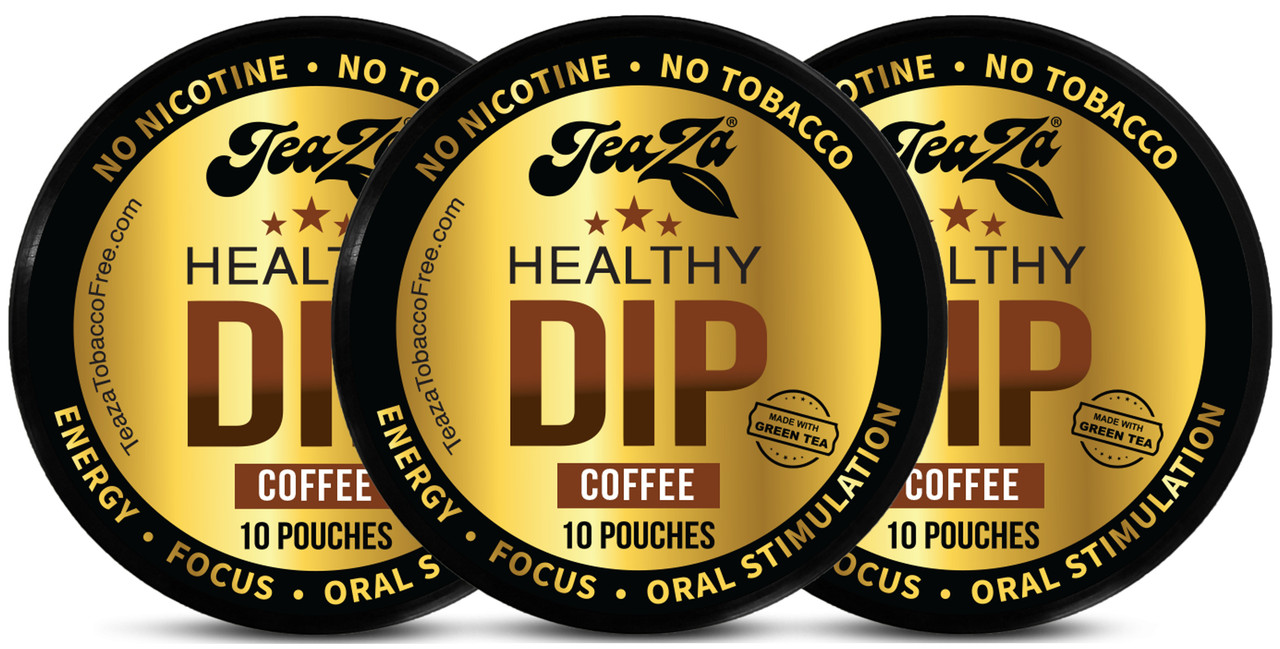 TeaZa Energy Pouches Coffee 3 Cans