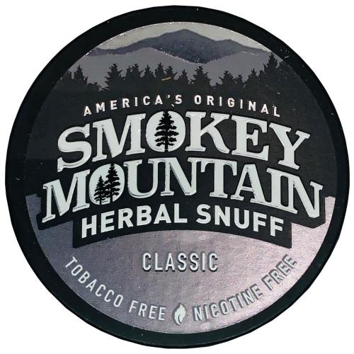Smokey Mountain Herbal Snuff Classic 1 Can
