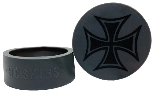 DC Skins Snuff Covers - Iron Cross