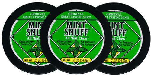 Oregon Mint Snuff Mint 3 Cans