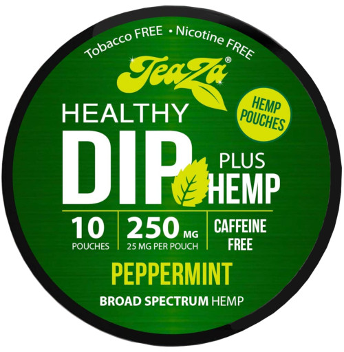 Teaza Herbal Hemp Peppermint Pouches Single