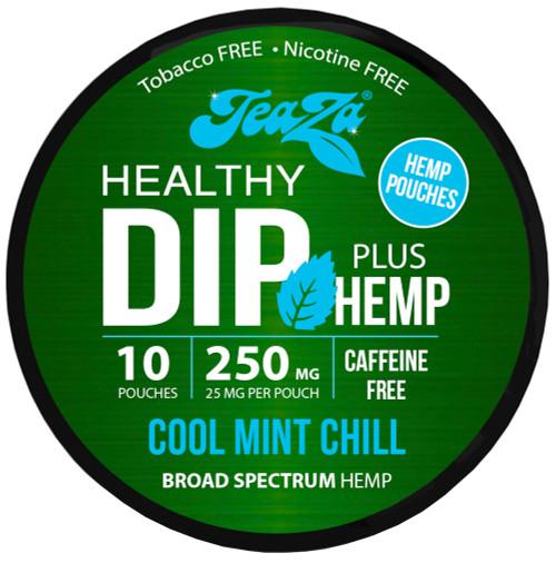 Teaza Herbal CBD Hemp Cool Mint Pouches Single