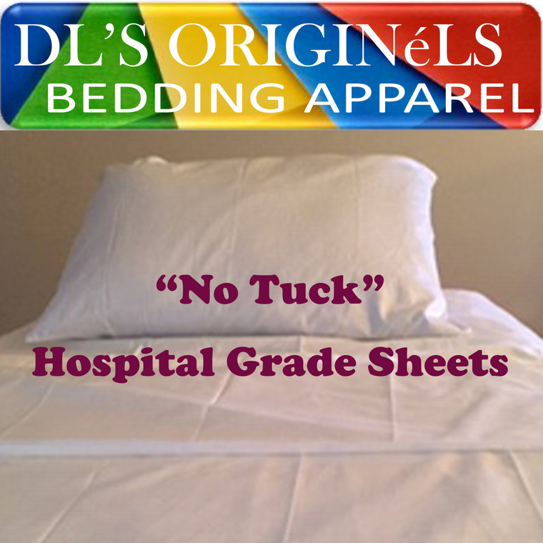 No Tuck Hospital Grade Sheets