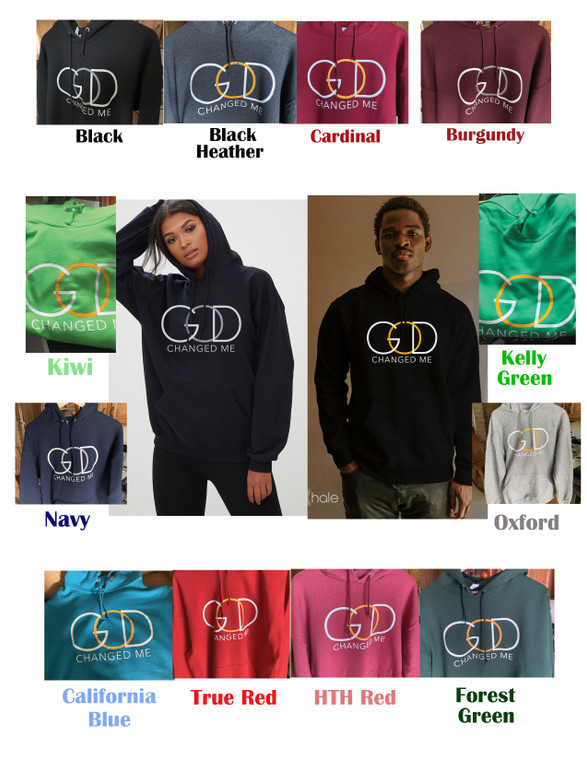 Printed Hoodies (God Changed Me)