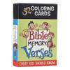 Card Tô Màu Trẻ Em - 52 Câu Kinh Thánh Ghi Nhớ - 52 Bible Memory Verses Every Kid Should Know - CBX011