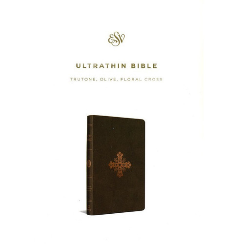 Kinh Thánh Tiếng Anh - Bản English Standard Version ESV UltraThin - Bìa Xanh Oliu - KTTA-1055