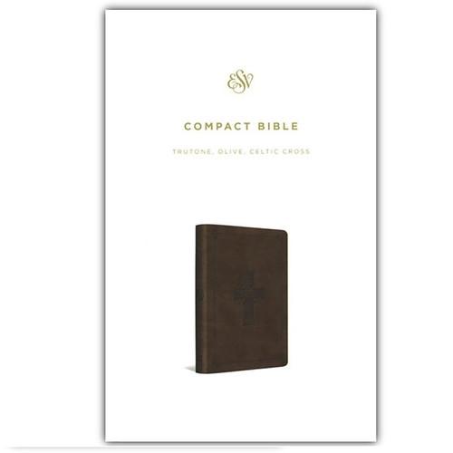 [] Kinh Thánh Tiếng Anh - Bản English Standard Version ESV Compact - Bìa Xanh Oliu - KTTA-1057