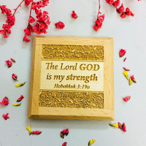 Nam Châm Dán Tủ Lạnh - Ha-ba-cúc 3:19a - Tiếng Anh - NC-GO-09
