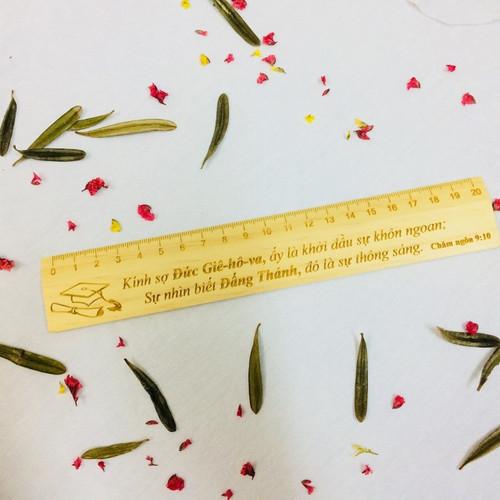 Thước Kẻ Gỗ - Châm-ngôn 9:10 - TK-1104
