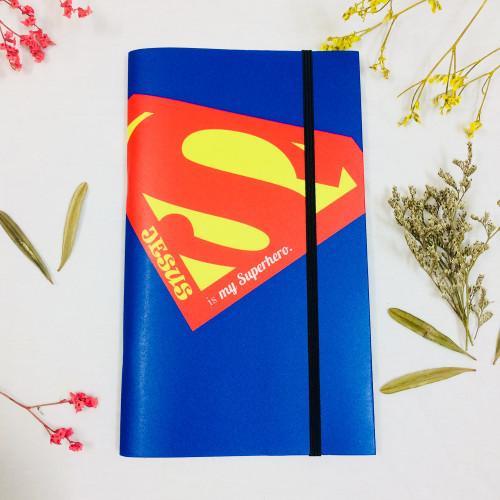 Sổ Tay In Bìa Trung - Jesus Is My Superhero - SO-IN-M-24