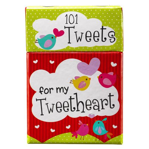 Hộp Card Thông Điệp Tình Yêu Thương - Tweetheart - BX085