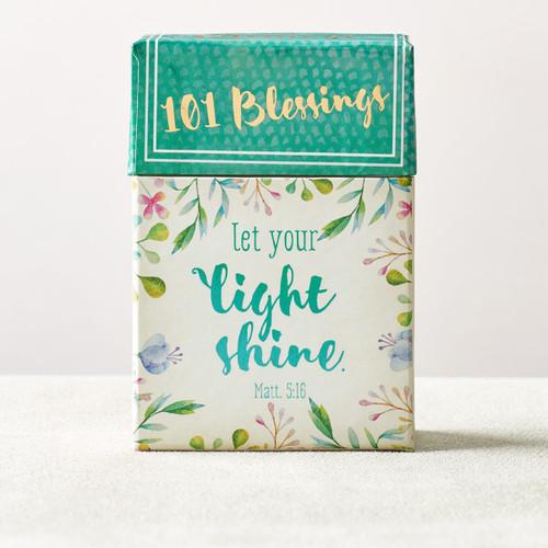 Hộp Card Thông Điệp Khích Lệ - Let Your Light Shine - BX107