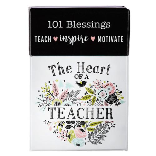 Hộp Card Thông Điệp - Blessing Heart Of A Teacher - BX110