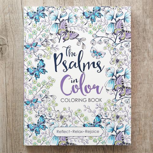 Sách Tô Màu Thi Thiên - The Psalms In Color - CLR022