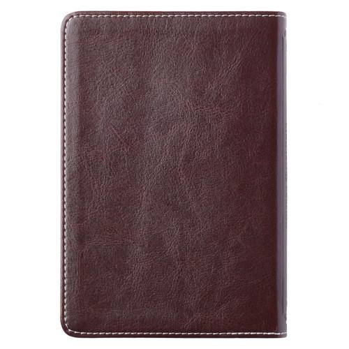 Kinh Thánh Tiếng Anh - Bản King James Version KJV - Bìa Da Màu Hồng Và Nâu - KJV049