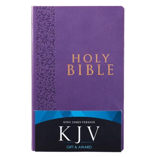 Kinh Thánh Tiếng Anh - Bản King James Version KJV - Bìa Da Màu Tím - KJV061
