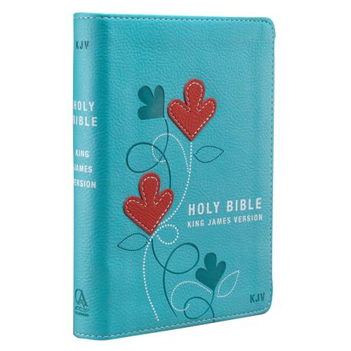 Kinh Thánh Tiếng Anh - Bản King James Version KJV - Bìa Da Màu Xanh Ngọc - KJV010