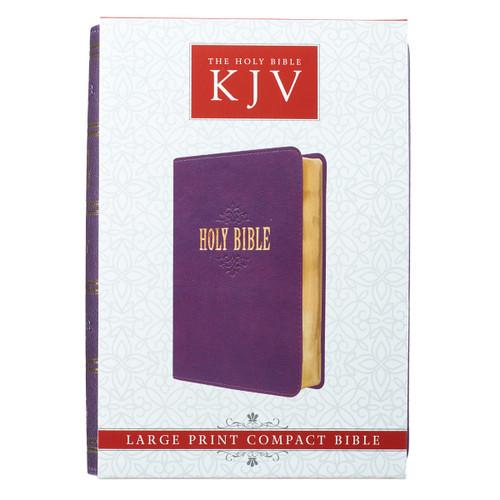 Kinh Thánh Tiếng Anh - Bản King James Version KJV - Bìa Da Màu Tím - KJV035