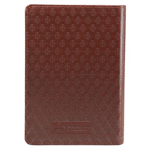 Kinh Thánh Tiếng Anh - Bản King James Version KJV - Bìa Da Màu Nâu - KJV005