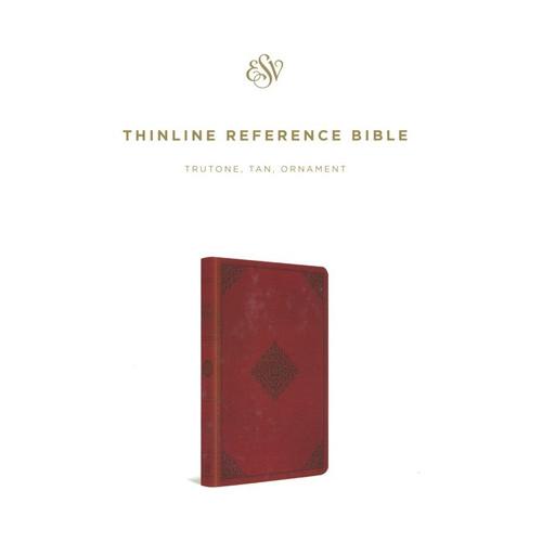 Kinh Thánh Tiếng Anh - Bản English Standard Version ESV - Thinline Reference - Bìa Nâu Đỏ - KTTA-1260