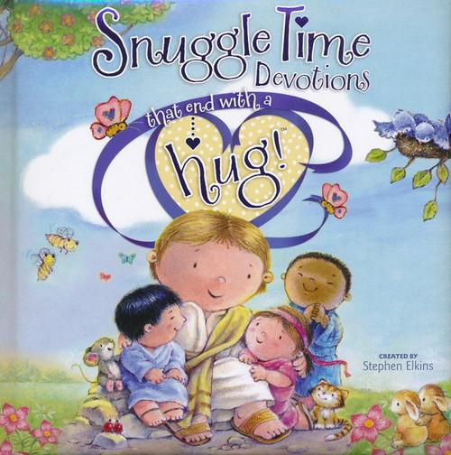 """Sách Kể Chuyện Cho Trẻ """"Mỗi Câu Chuyện Một Cái Ôm"""" - Snuggle Time Devotions That End with a Hug! - Tiếng Anh"""