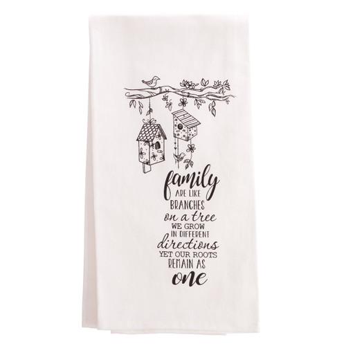 Khăn Trải Bàn - Family Tea Towel - KB-TWL006