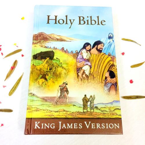 Kinh Thánh Tiếng Anh - Bản King James Version KJV - Kinh Thánh Bìa Cứng Dành Cho Trẻ - KTTA-001260
