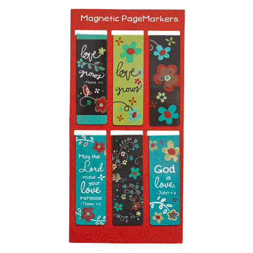 Bộ Bookmark Nam Châm - Love Never Fails - BMNC-MGB044