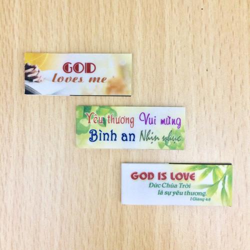 Bookmark Nam Châm Nhỏ Bộ 3 Cái - Nhiều Mẫu Ngẫu Nhiên - BMNC-S01