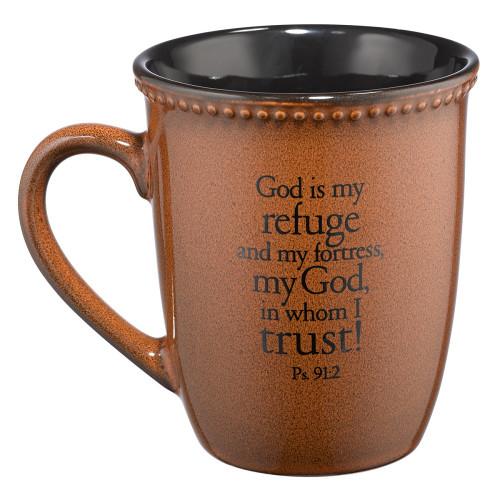 Ly Sứ Christian Art Gifts - Thi-thiên 91:2 - MUG280