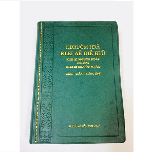 Kinh Thánh Tiếng Ê-đê - Trọn Bộ - Bìa Màu Xanh - KTTV-001426